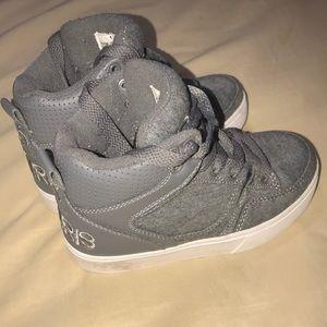 Toddler size 12 Osiris high-top sneakers